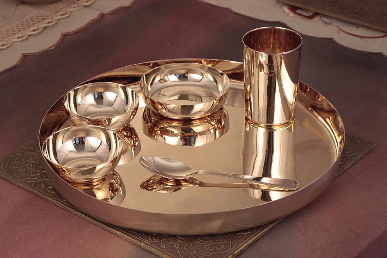 Housewarming Gifts Silver & Brass Utensils