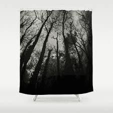 Dark Forest Shower Curtains