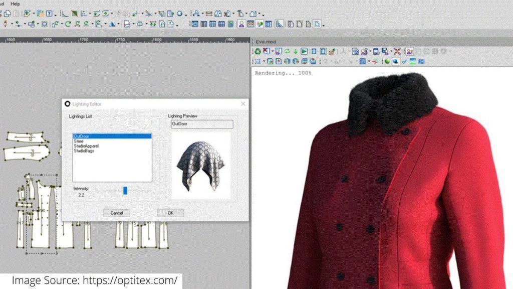 Optitex's Pattern Design Software
