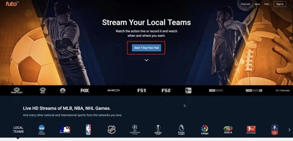 Fubo.tv - Best Site To Watch Online Sports Stream