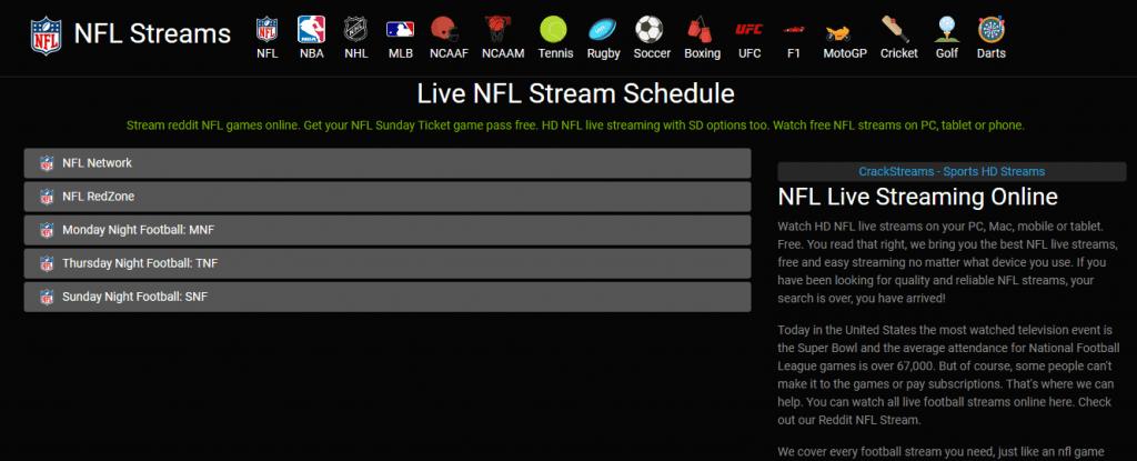 NFLStream